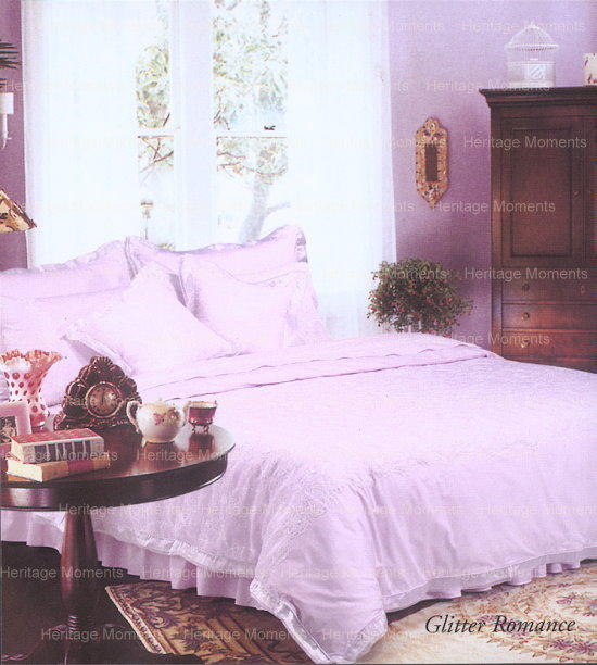 Wedding Bedset: Glitter Romance Design